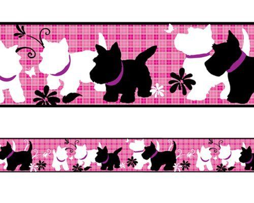 Scottie and Westie Peel and Stick Wall paper Border WALLPAPER BORDER dog by Borders Unlimited, http://www.amazon.com/dp/B001AEN6VU/ref=cm_sw_r_pi_dp_N2GArb06BXZGH