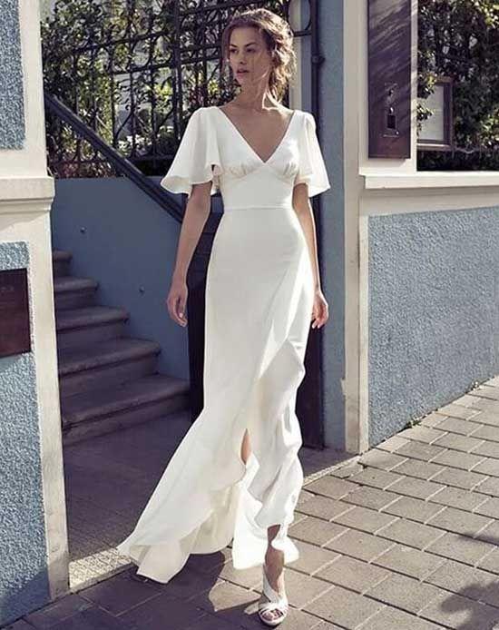 Nikah Elbisesi Modeli The Dress Moda Stilleri Elbise