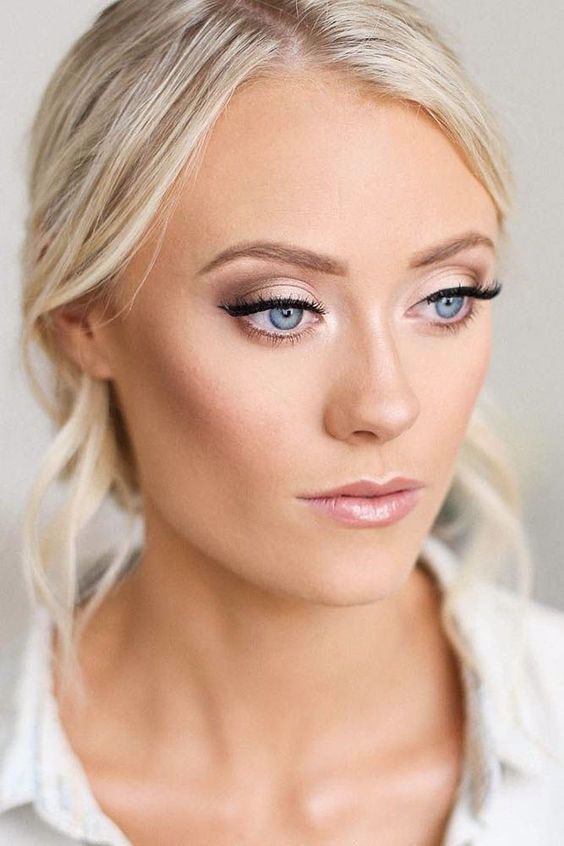 Bridemaids Makeup For Blue Eyes You Should Maintain The Makeup