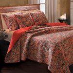 Greenland Home Fashions Persian Cotton Throw & Reviews   Wayfair