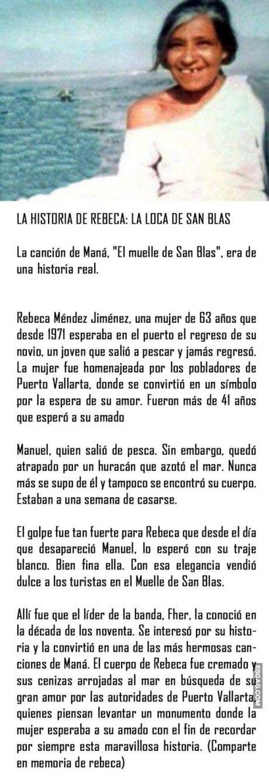 La historia de Rebeca: la loca de San Blás...