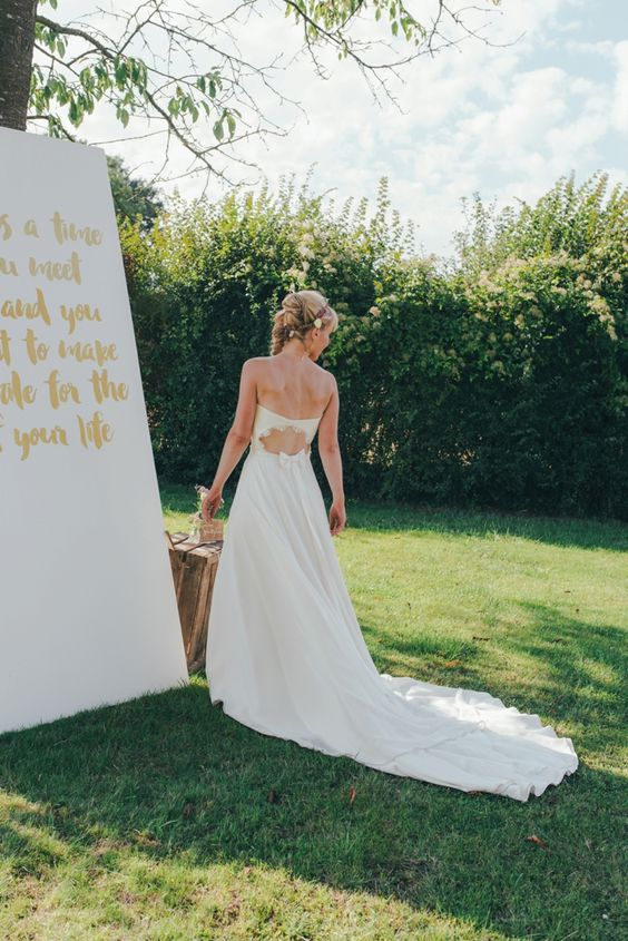 Lovely french bride, Cécile.