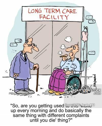 cartoons of complaining people care home cartoons care