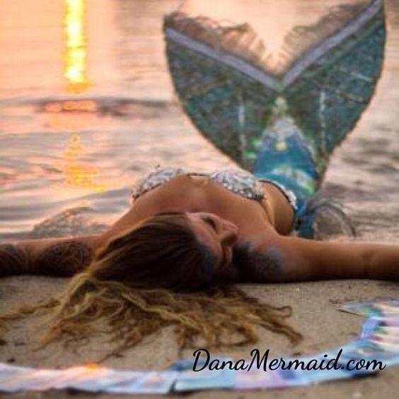 www.DanaMermaid.com #danamermaid #mermaid #beach Photography by @Sarah Lee