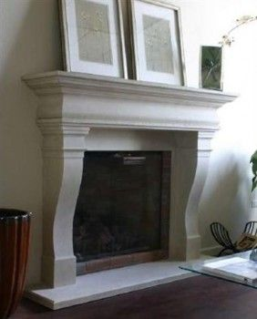 Paris stone fireplace mantel mantels design your own for Design your own fireplace