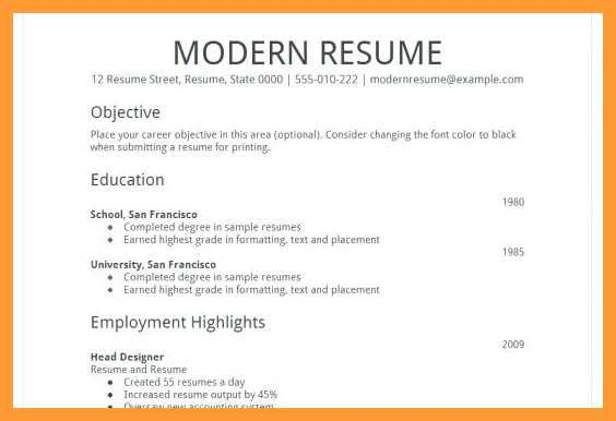 Resume Templates Google Docs Reddit 4 Professional Templates
