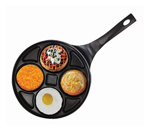 Non Stick Frying Pan Cast Iron Pancake Maker Griddle Gas Electric Induction UK