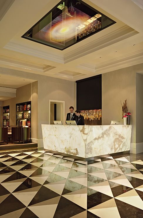 Hotels Reception Desks And Lobbies On Pinterest