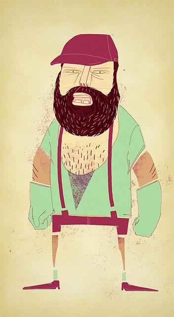 grumpy lumberjack