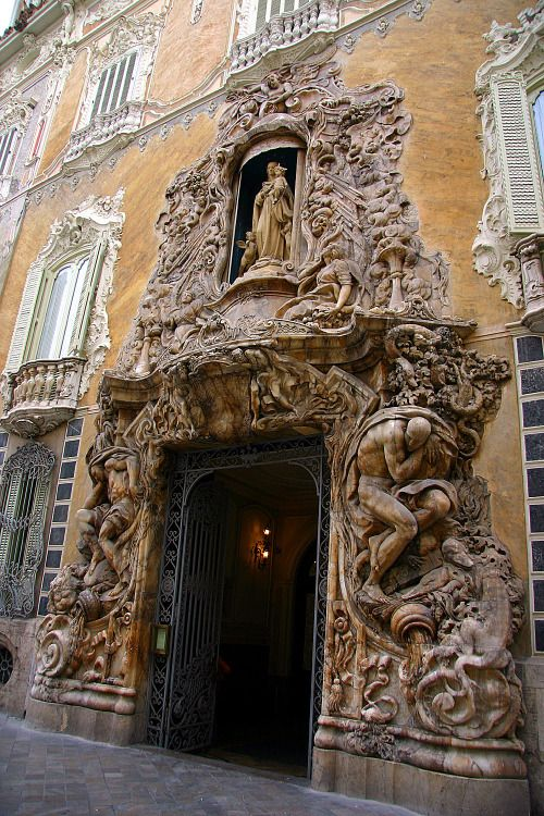 Museo Nacional de Cerámica y de las Artes Suntuarias González Martí (The Ceramics Museum of Valencia) Palacio de Marques de Dos Aguas, Valencia, Spain.: