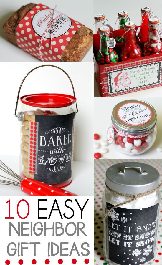 Wedding Gift Ideas For Neighbors : 10 Neighbor Gift Ideas Xmas ideas Pinterest Neighbor christmas ...