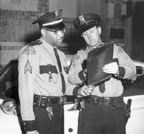 Walter Vernon Lawson First Black Police Officer Of The Seattle Police Department Promoted To Sergeant Police Officer African American History Washington State History