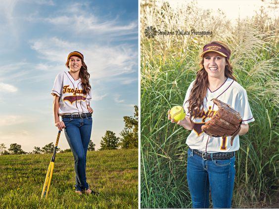 Senior Portraits Softball