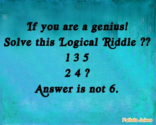 logical reasoning questions, riddles, brain teasers ...