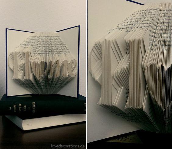 Origami Bücher falten mit Anleitung // Book Origami + Tutorial