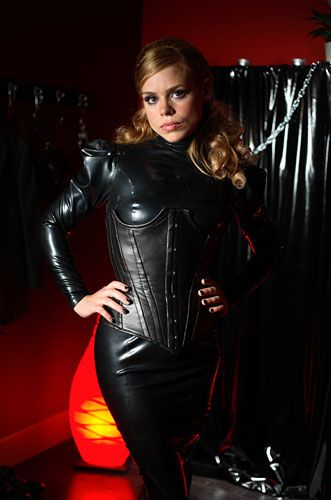 girls in leather corsets