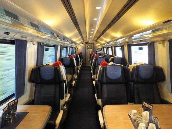East Midlands Trains Class 222 First Interior