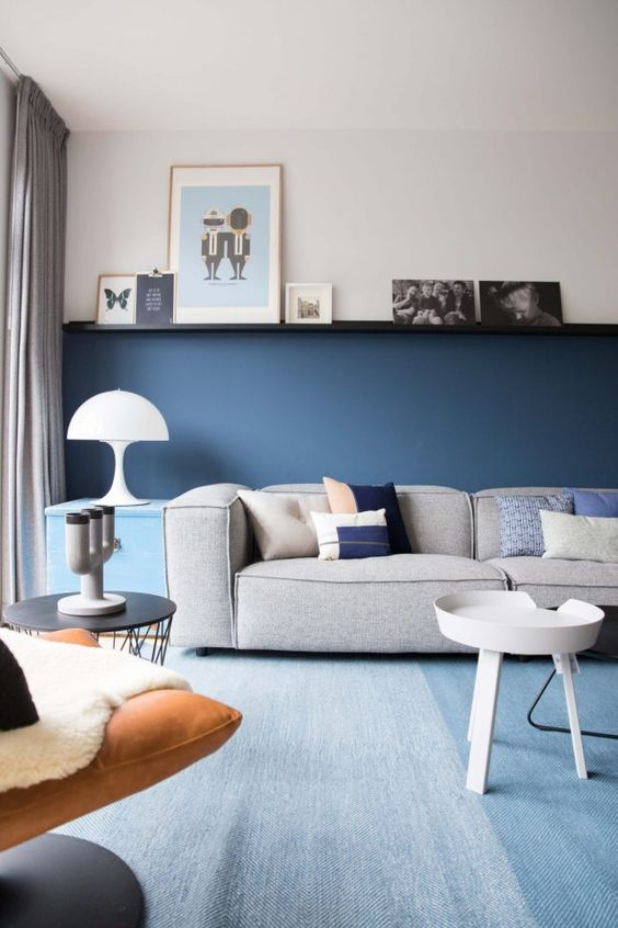 Une maison familiale en bleu - PLANETE DECO a homes world