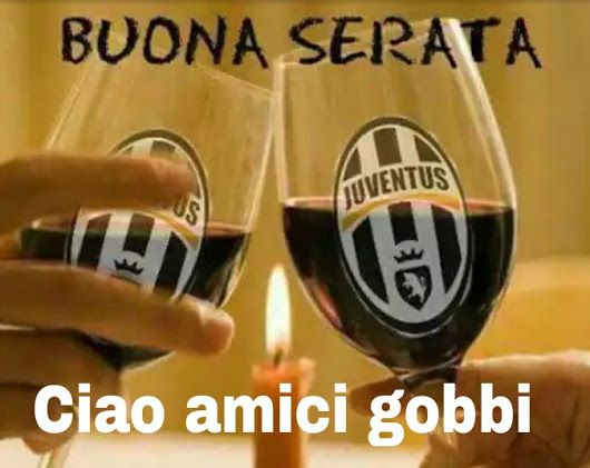 Buona Serata Bianconeri Fútbol Calcio