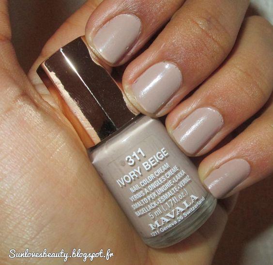 Mavala Ivory beige n°311