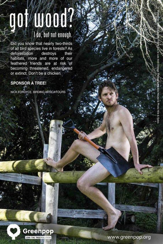 南非《森林裡的裸男》再不種樹他們就要曝光啦~ - 圖片2