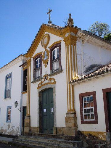 Capela Santo Antonio, São João del Rei, Minas Gerais.: