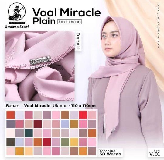Jilbab Segi Empat Voal Terbaru Panjang Dan Original Warna Kecantikan Produk