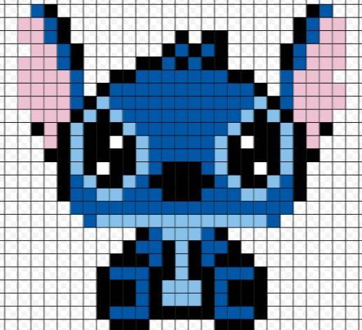Risunki Po Kletochkam Poisk V Google Animales Punto De Cruz Punto De Cruz Dibujos Pixelados