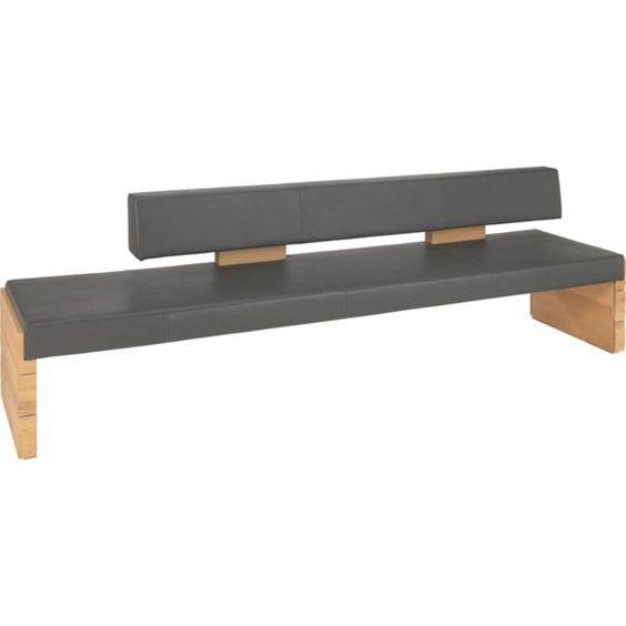 Praktische Sitzbank von VOGLAUER mit insgesamt 5 Sitzplätzen - sitzbank küche mit lehne