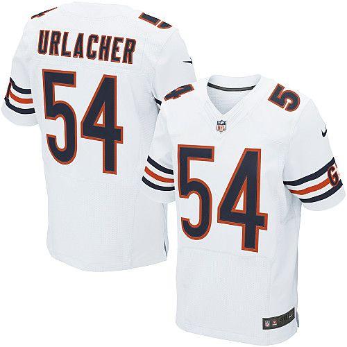 ede99acb90a ... Mens Nike Chicago Bears Brian Urlacher Elite White Jersey Sports Fan  Pinterest Nfl jerseys ...