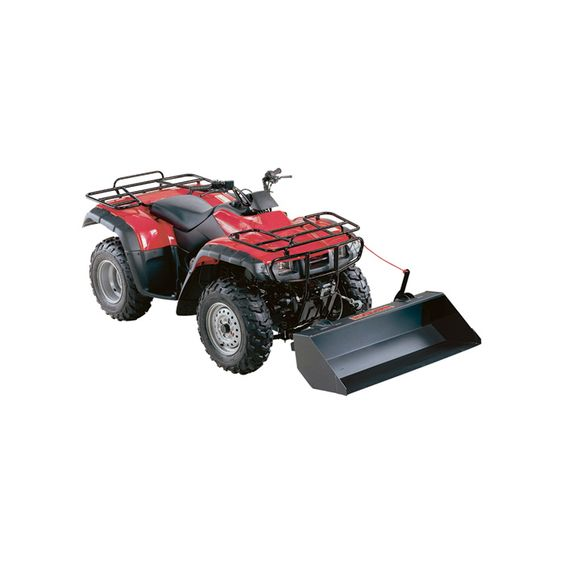 Dump Swisher Universal ATV Bucket - 44in. Large, Modèle # 15714   Accessoires de VTT   Northern Outil + Equipment