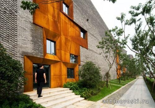 Жилой комплекс Sky Courts от Höweler + Yoon Architecture. Чэнду, Китай.