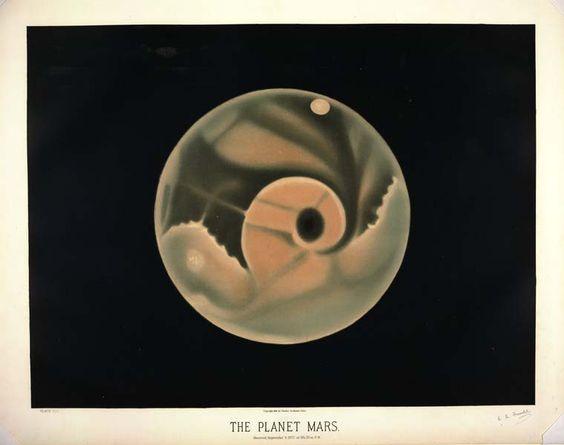 illustration astronomique victorienne 15 Illustrations astronomiques en 1870
