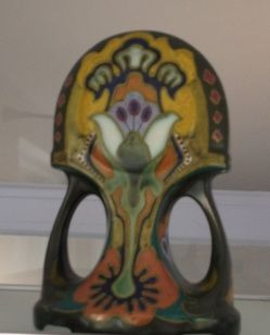Arnhem 'plateel' vase, art nouveau