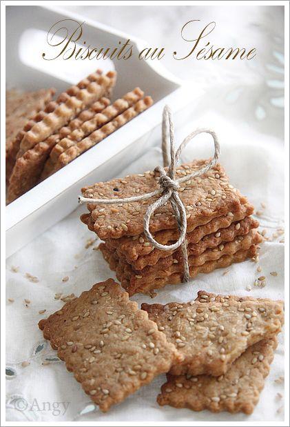 Biscuits au Sésame....