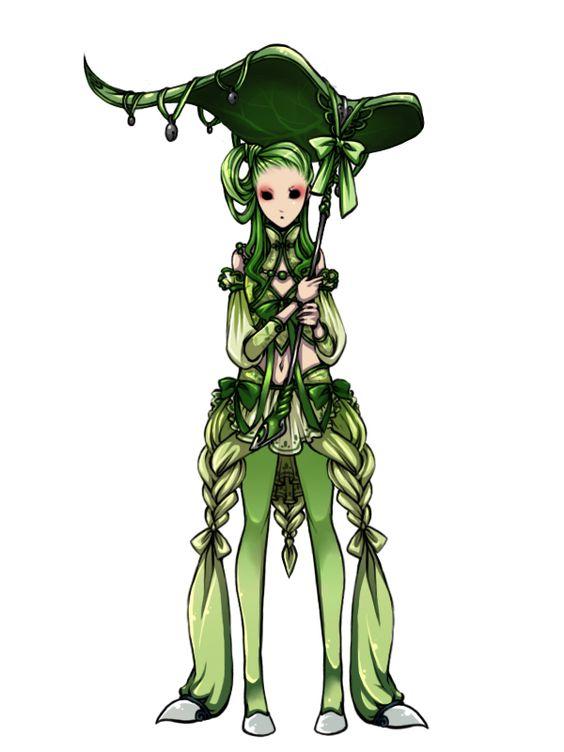 152[2-001]. 치코리타 _ Chikorita _ チコリ─タ Pokémon Gijinka's - Imgur
