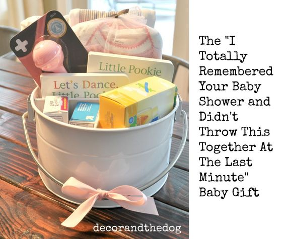 I Totally Remembered Your Baby Shower Gift from Decor and the Dog