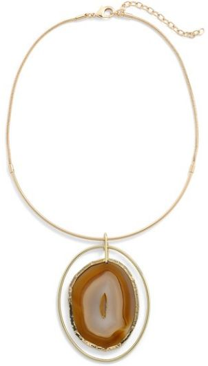 agate collar necklace