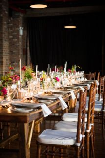 Industrial Chic Warehouse Wedding
