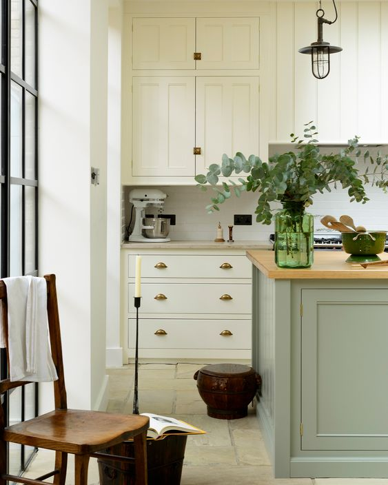 Modern Country Georgian Kitchens