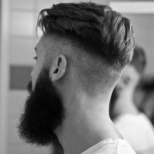 29 Best Short Hairstyles With Beards For Men 2020 Guide Short Hair With Beard Beard Hairstyle Mens Hairstyles Undercut