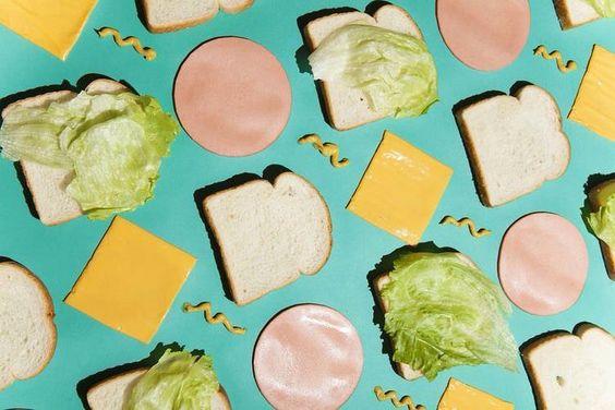 Sandwich décomposé