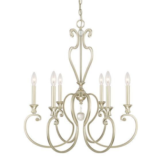 Capital Lighting Abigail 6 Light Chandelier #CapitalLighting #Traditional