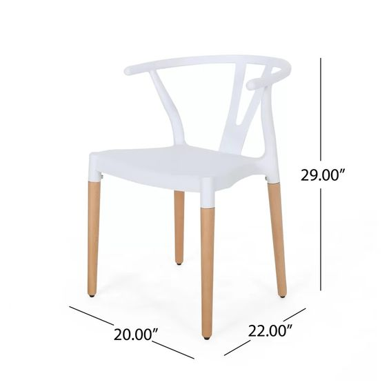 Ana Arm Chair Solid Wood Dining Chairs Mismatched Dining Chairs