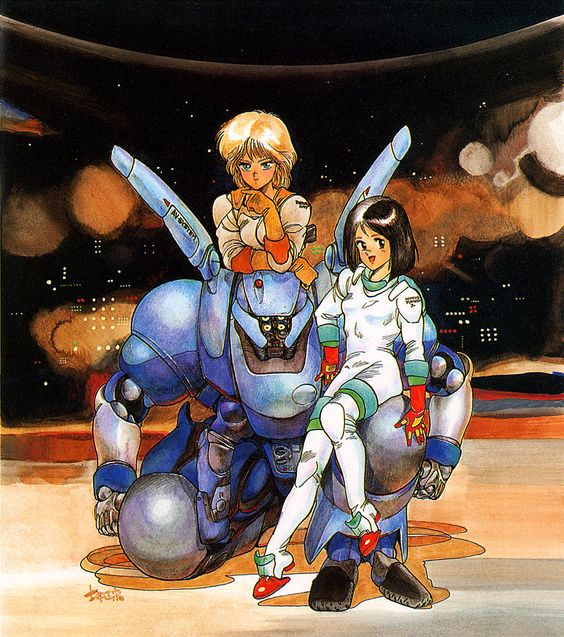 SPACESHIP ROCKET, Appleseed by Masamune Shirow