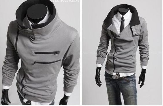 Stylish Light Grey Jacket, yes must find!