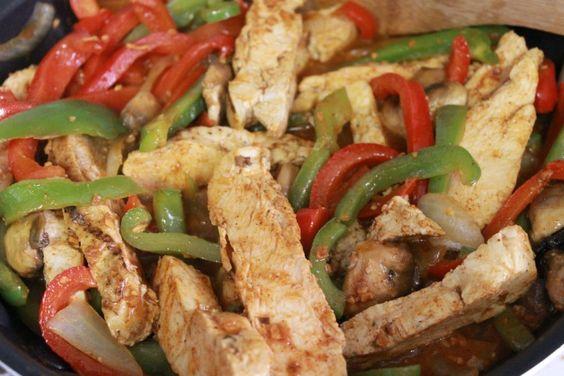 Easy Grilled Chicken Fajita Recipe