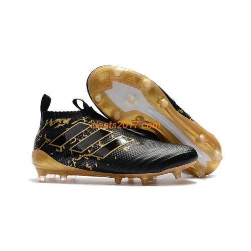 Adidas ACE 17 PureControl FG Fußballschuhe 2017 Schwarz Gold