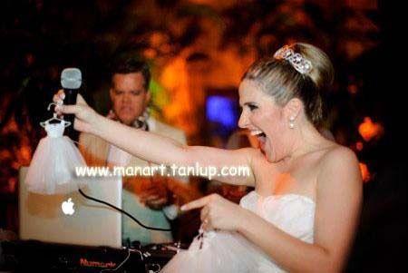 Lindo Vestidinho de Noiva para Lembrancinhas  www.manart.tanlup.com