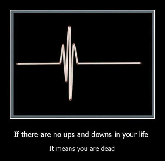 Ups and Downs in Life